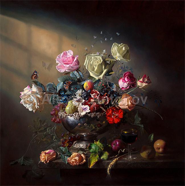 Pintar las rosas  Pintura y Artistas