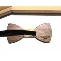 """""""Custom"""" - Zebrawood Bow Tie"""