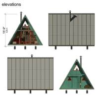 A Frame Tiny House Plans