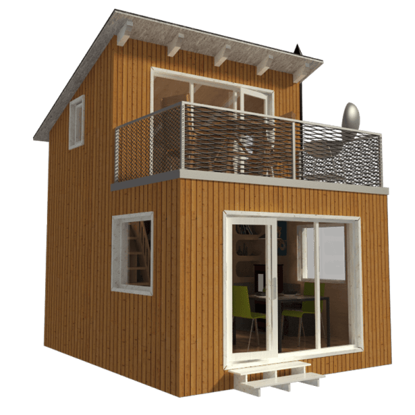 Contemporary Small Cabin House Plans