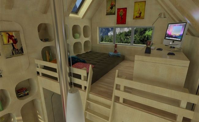 Tiny House Plans With Loft And Porch Small House Plans