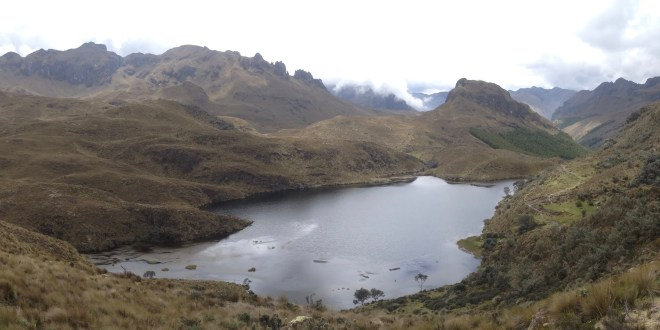 Adventures Abroad:  Trekking through Cajas National Park