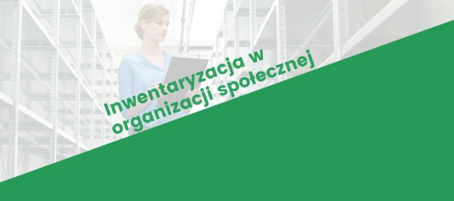 Grafika promująca warsztat Inwentaryzacja w organizacji społecznej