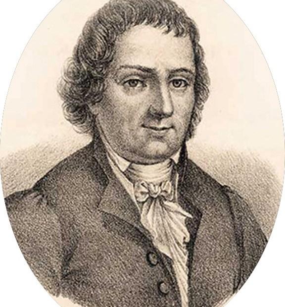 Rycina przedstawiająca Franciszka Karpińskiego