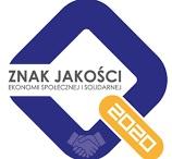 """Logo konkursu Znak Jakości Ekonomii Społecznej i Solidarnej"""""""