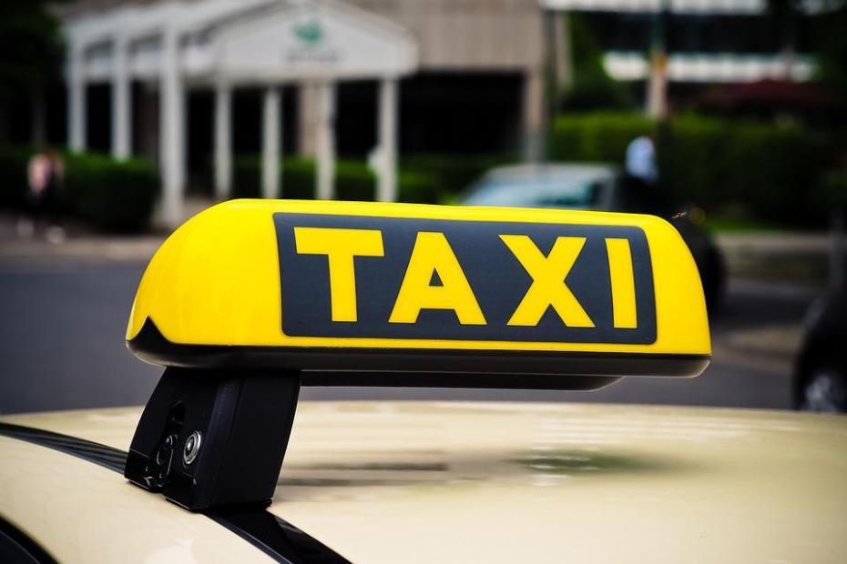 Zdjęcie, baner taksówki