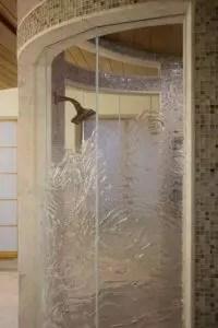 Cast Glass Shower Enclosure - Ultimate Optique