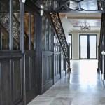 Mirrored hallway walls ceilings