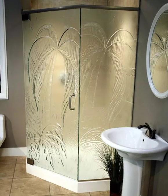 Cast Glass Pattern: Palm