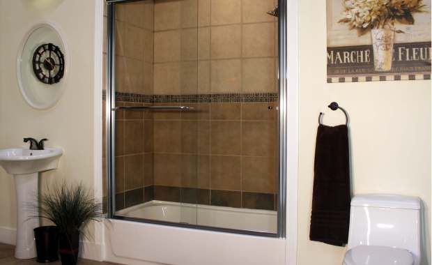Apollo Sliding Shower Enclosures - CH-Clear - Euro image 1