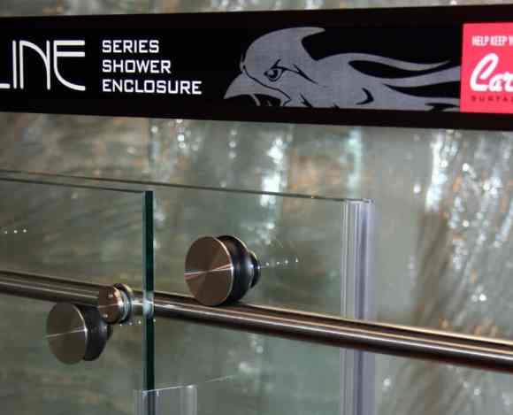 Cardinal Shower Enclosure, Skyline Series - Wheel Detail