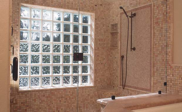 Heavy Glass Shower Enclosures - Clear, shower enclosure example
