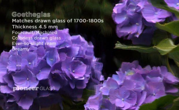 Goetheglas: Restoration Drawn Glass For Historic Buildings