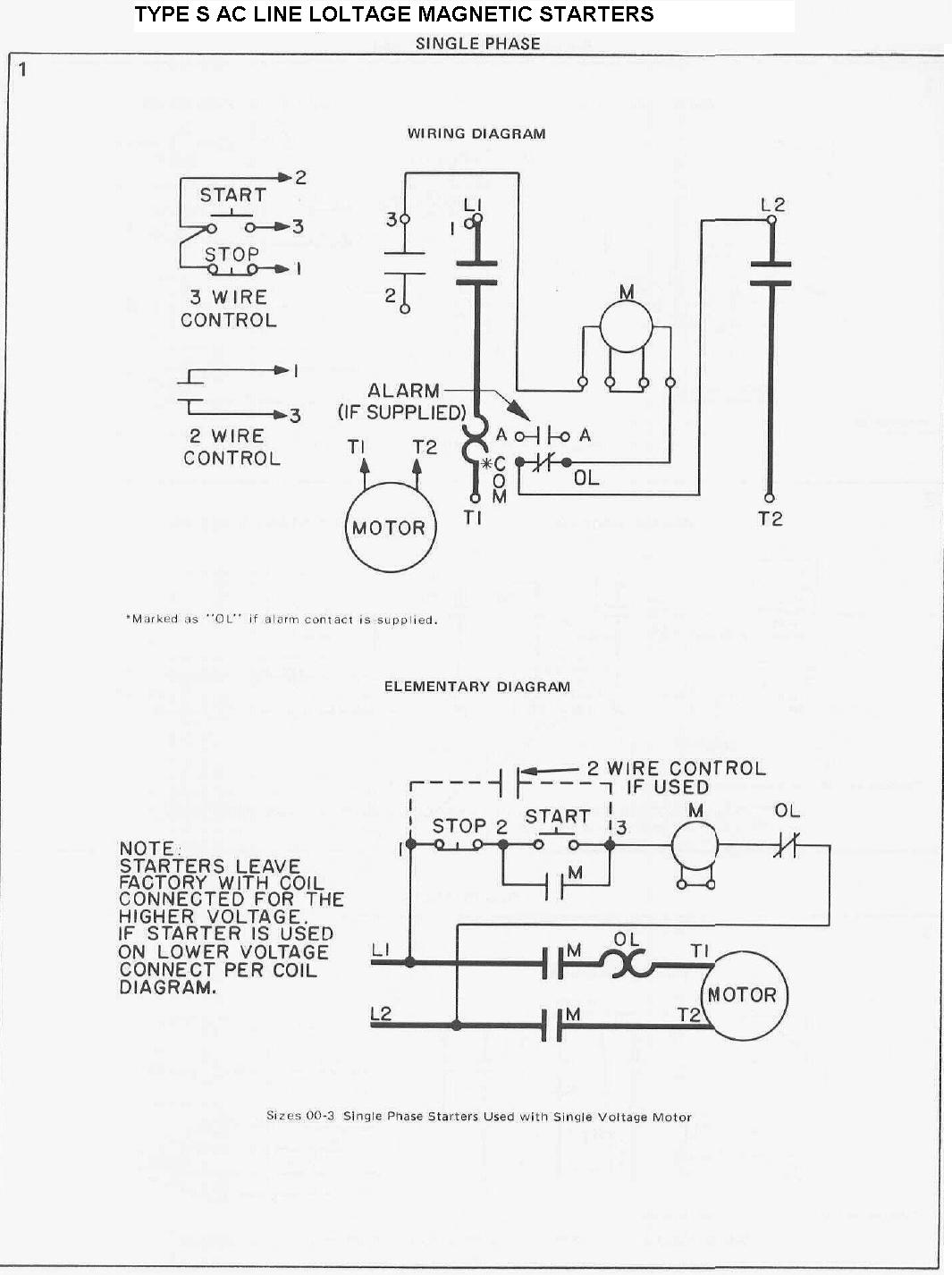 single phase electric motor starter wiring diagram jeep jk headlight westinghouse 1 4 hp