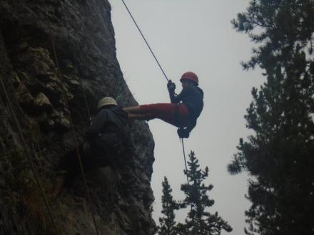 Pic Alberta Camp Cherith Girls Rock Climbing
