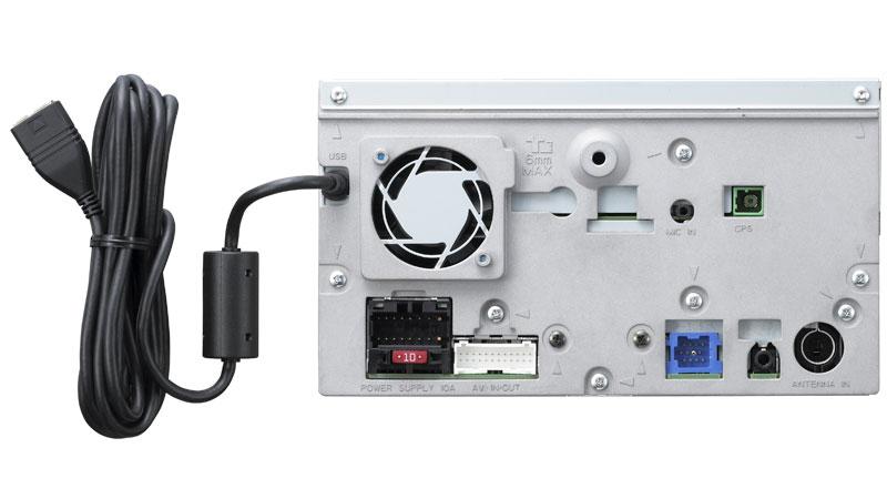 AVIC F700BT_rear_lrg pioneer avh p6850dvd wiring diagram pioneer car stereo wiring  at gsmx.co