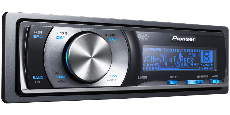 DEH P6000UB CD Receiver With Full Dot OEL Display USB Direct