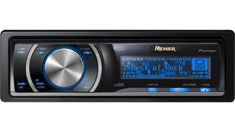 pioneer car cd player wiring diagram 5 wire flat trailer deh p600ub premier receiver with full dot oel display usb staticfiles pusa images main lrg jpg