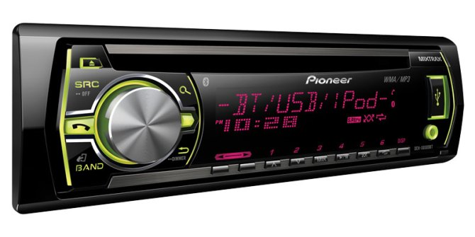 dehx6500bt  cd receiver with mixtrax™ bluetooth® usb