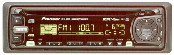 DEH 1000 Pioneer Electronics USA