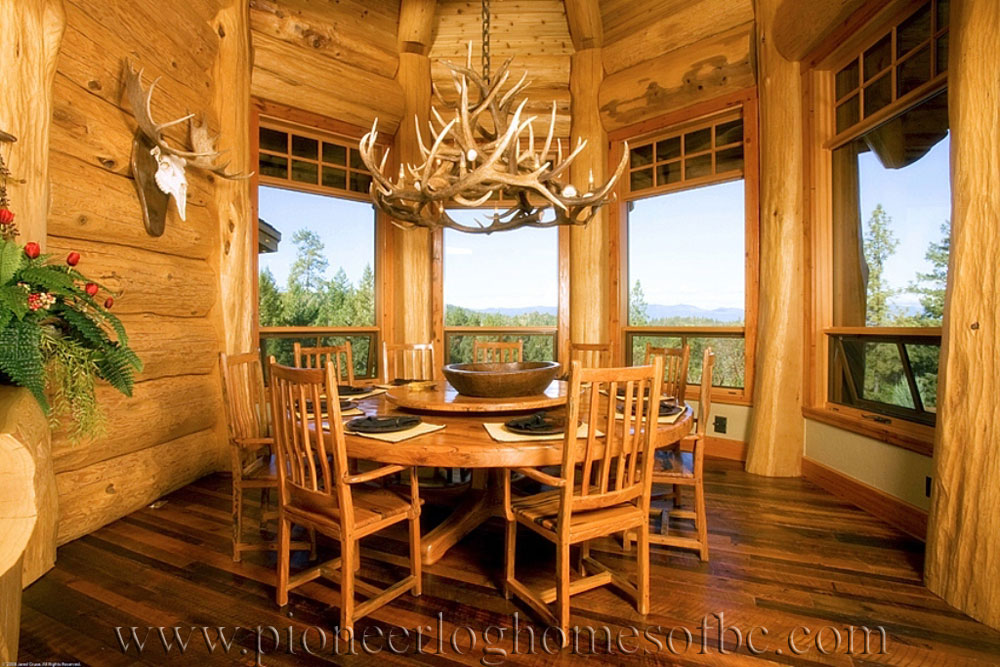 Grants Pass Oregon Log Home  Custom Built Log Homes  Pioneer Log Homes Of BC