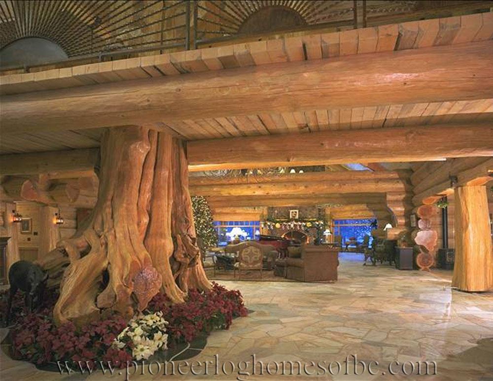 Pioneer Log Homes of BC  Legacy Lodge  Pioneer Log Homes