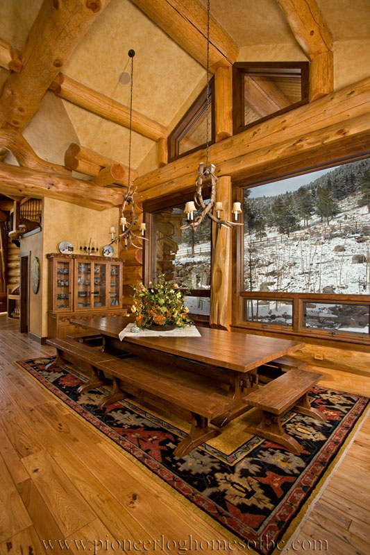 Loveland CO  Log Home Picture Gallery  Colorado USA