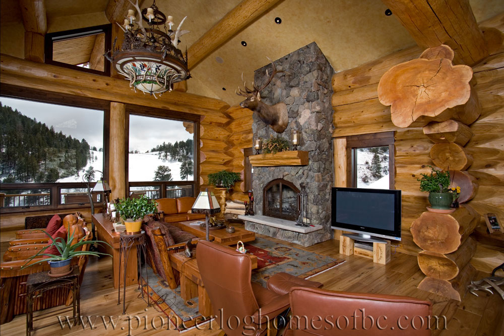 Loveland CO  Log Home Picture Gallery  Colorado USA