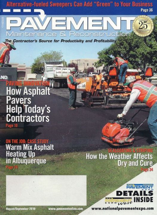 Pavement Maintenance & Reconstruction Magazine
