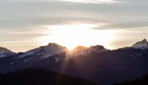 Sonnenaufgang Lagorai