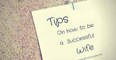 tips on h ow to be a successful wife