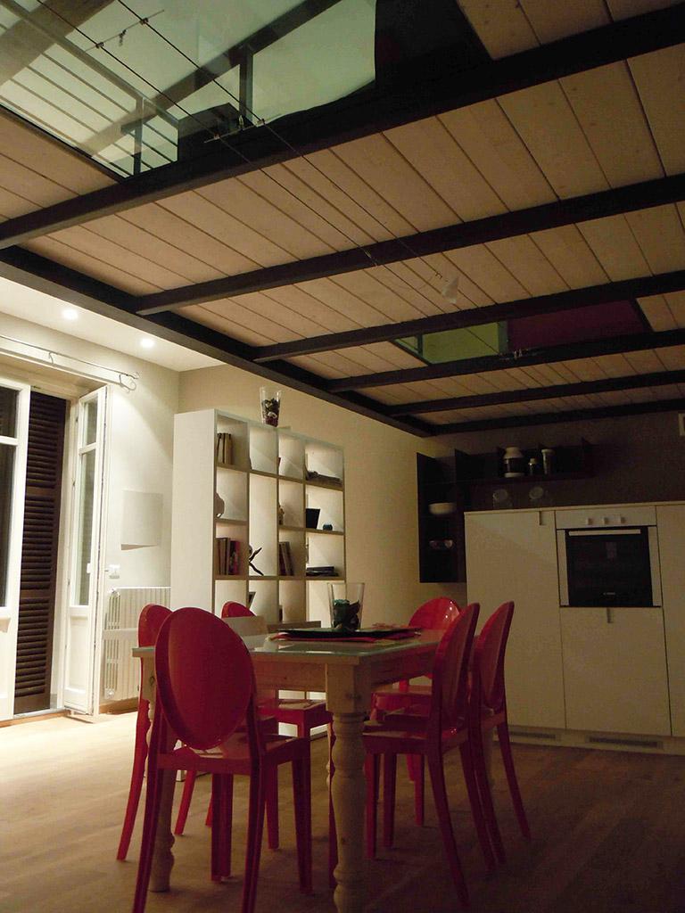 Ristrutturazione di un Loft con Soppalco