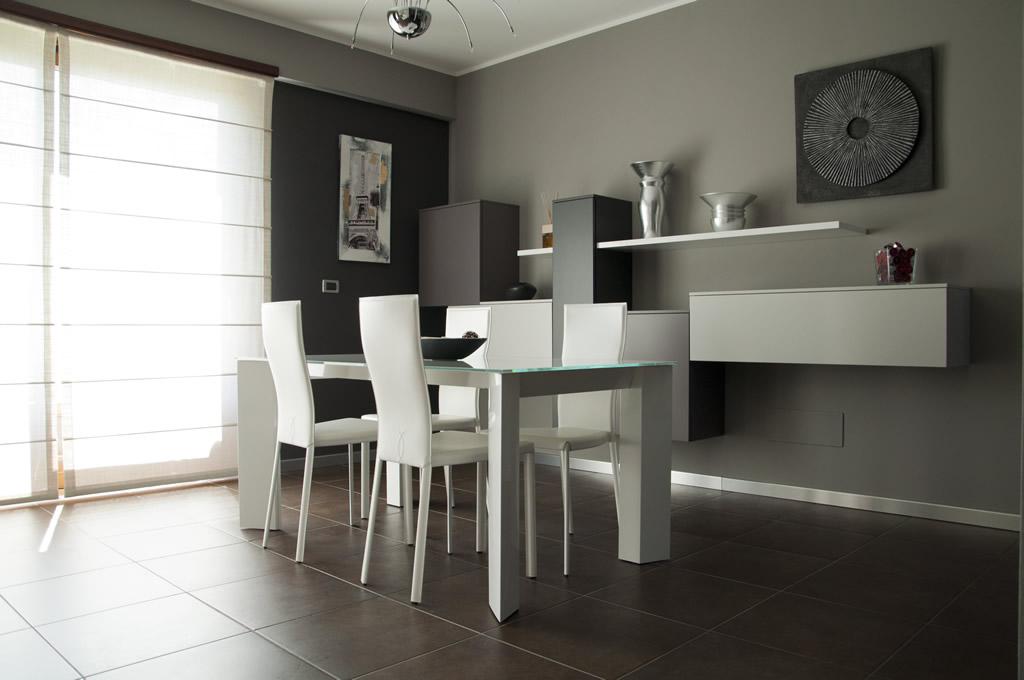 Arredamento di un living room moderno Torino  Piovano