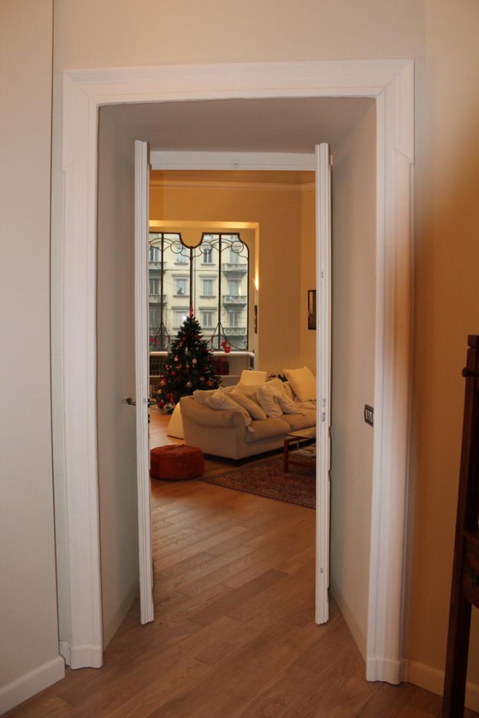 Ristrutturazione di un appartamento di 90 mq in un palazzo