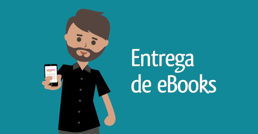 Entrega de ebooks - Livraria da Pipa