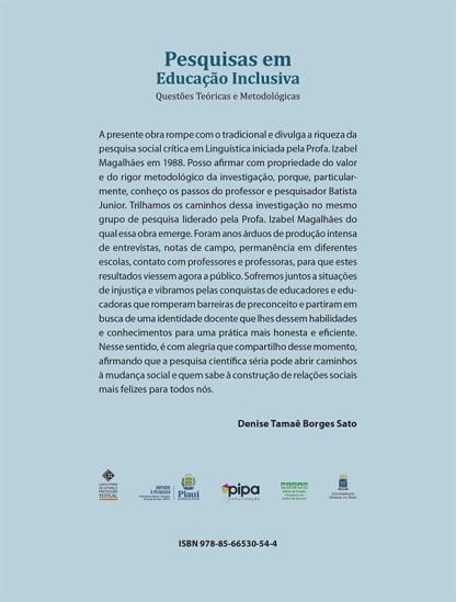 Pesquisas em Educação Inclusiva