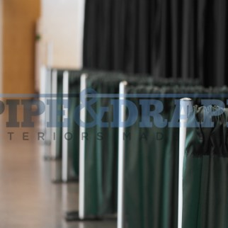 Exhibition Stand Building PIPE AND DRAPE
