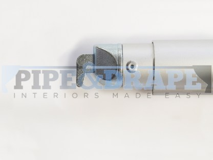 PIPE AND DRAPE CROSSBAR - REINFORCED END - TELESCOPIC END
