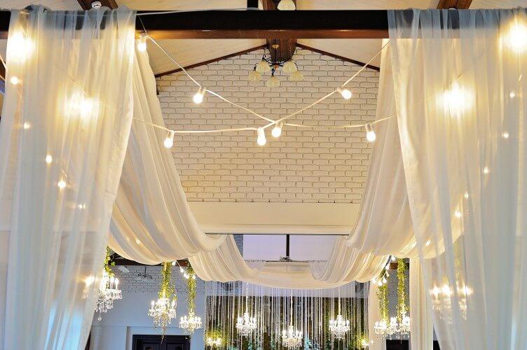 30 Foot Long Ceiling Drape