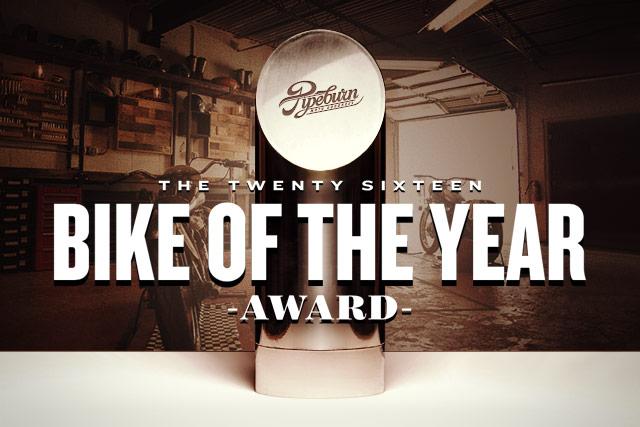 The Pipeburn 2016 Bike of the Year Award