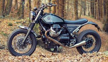 END OF THE WORLD  Officine Rossopuro's 'Finisterrae' Moto Guzzi