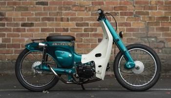 BOX SET  Mike Dodd's Spare Parts Suzuki DR650 Cafe Racer - Pipeburn com