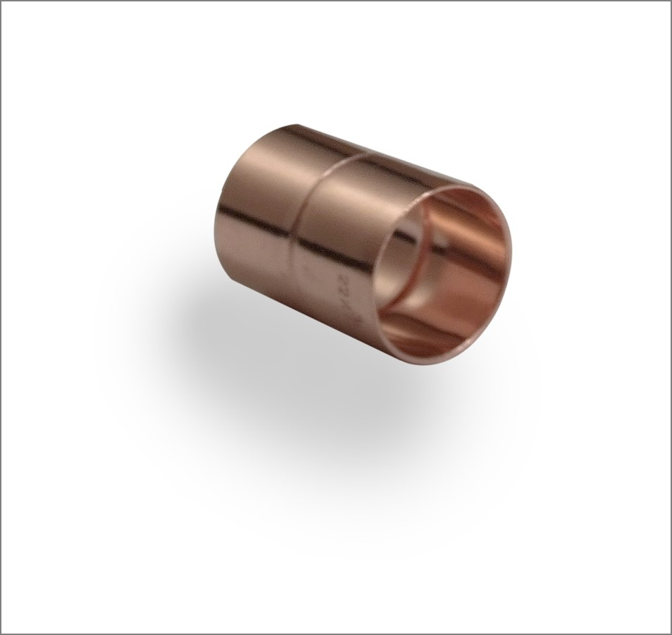 Imperial Metric Coupler Copper End Feed - Pipe Dream Fittings