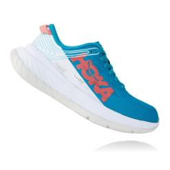 Hoka Carbon X Caribbean Sea / White