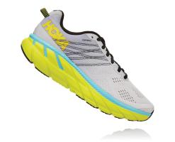 Hoka Clifton 6 Lunar Rock / Nimbus Cloud