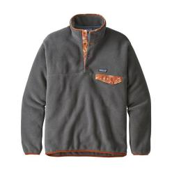Patagonia Lightweight Synchilla Snap-T Fleece Pullover Forge Grey FGE