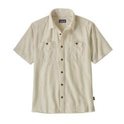 Patagonia Back Step Shirt Goshawk Dobby: Pumice GYPU