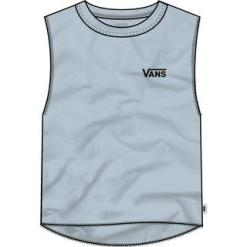 Vans Junior V Muscle Cropped Tank Top Zen Blue