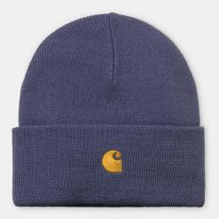 Carhartt Chase Beanie Cold Viole Gold