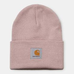 Carhartt Acrylic Watch Hat Frosted Pink